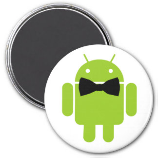 Formal Atire Android Robot Fridge Magnets