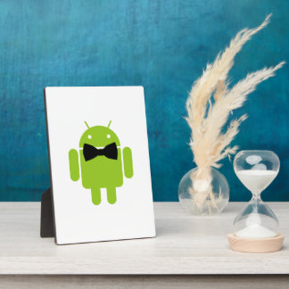 Formal Atire Android Robot Plaques