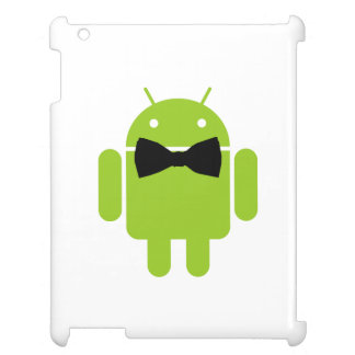 Formal Black Bow Android Robot Case For The iPad 2 3 4