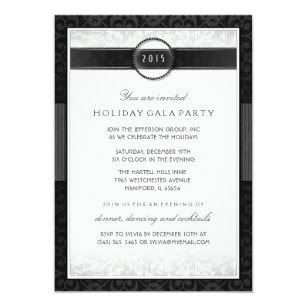 formal event invitations zazzle
