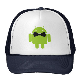 Formal Bow Tie Android Robot Icon Trucker Hat