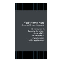 stripes, modern, corporative, serious, formal, design, creative, black, technology, consultant, businesses, Business Card with custom graphic design