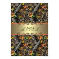 Formal Camo Wedding RSVP Cards 3.5&quot; X 5&quot; Invitation Card (<em>$1.86</em>)