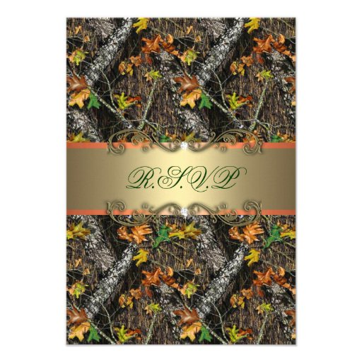 this deals formal camo wedding rsvp cards invitations rsvp cards