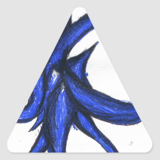 Formal Chaotic Entropic Entity Triangle Sticker