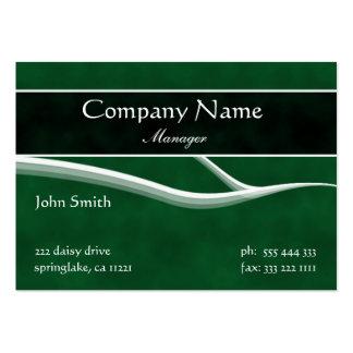 Formal Dark Green Business Card