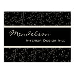Formal Deco Business Professional Design Two Postcard