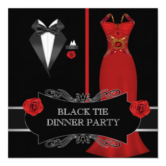 Formal Dinner Party Invitations & Announcements | Zazzle