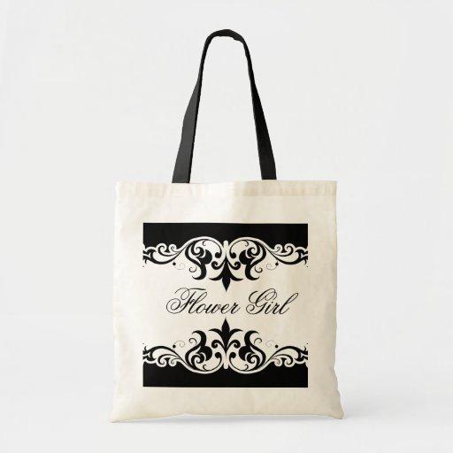 Formal Elegance Canvas Bag