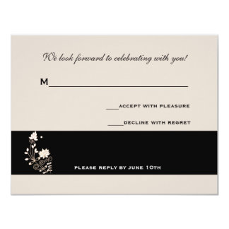 Formal Elegance Response Card