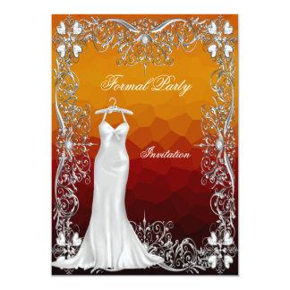 "Formal Event Party Invitation 5"" X 7"" Invitation Card"