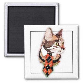 Formal Feline Magnet