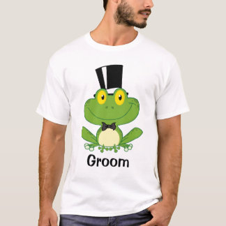 Formal Frog Groom Tee Shirt