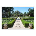 Formal Garden Invitation
