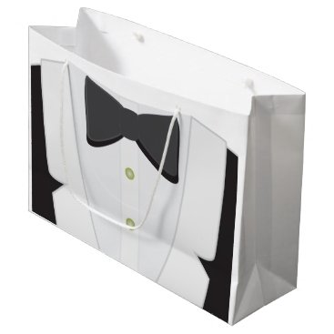Wedding Themed Formal Gift Bag by Leslie Harlow
