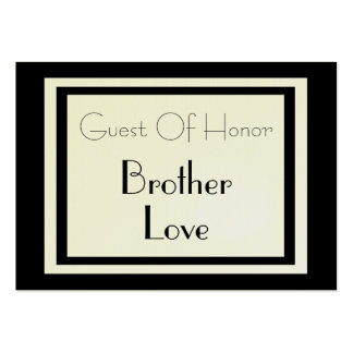 Formal Gift Wrapped Guest of Honor Card Large Business Cards (Pack Of 100)