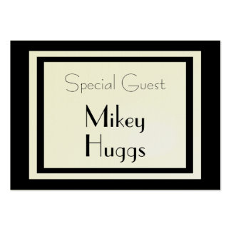 Formal Gift Wrapped Special Guest Card Large Business Cards (Pack Of 100)