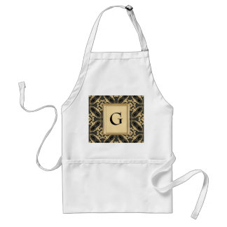Formal Gold Lace Aprons