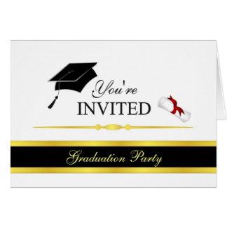 Formal Graduation Invitations - Customize Greeting Cards