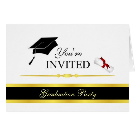 Graduation Invite Cards correctly perfect ideas for your invitation layout