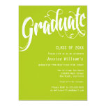 "Formal Graduation Party 5"" X 7"" Invitation Card"