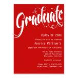 Formal Graduation Party Custom Announcement