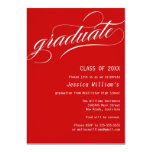 Formal Graduation Party Personalized Invitation