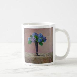 Formal Hydrangea Coffee Mug