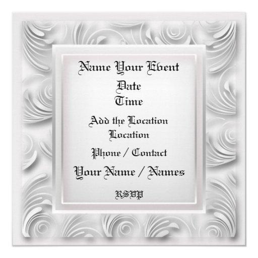 Formal Invitation - SRF