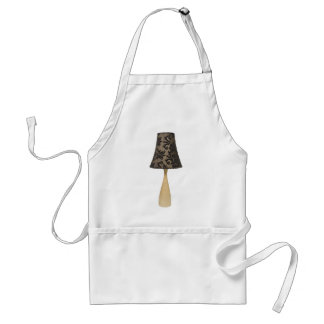 Formal leafy lamp aprons
