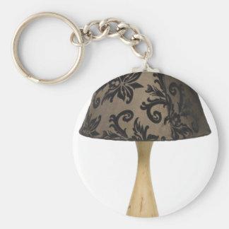 Formal leafy lamp key chains