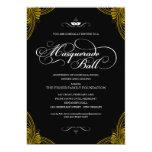 Formal Masquerade Ball Invitations