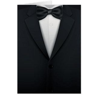 Formal Mens' Tuxedo Tux Card