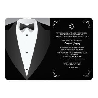 Formal Occasion Bar Mitzvah Invitation
