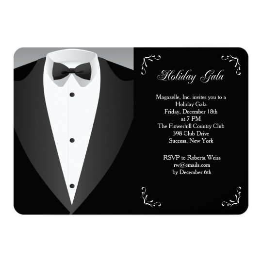 Formal occasion holiday gala invitation zazzle formal occasion holiday gala invitation stopboris Image collections