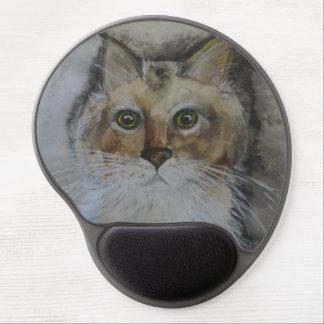 Formal Portrait Startled Stella Gel Mousepad