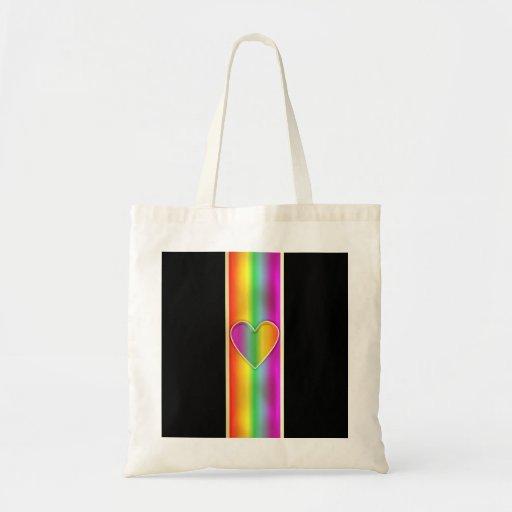 Formal Rainbow Heart Bag