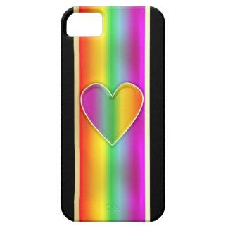 Formal Rainbow Heart iPhone SE/5/5s Case