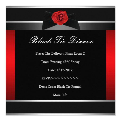 Formal Dinner Invitation is perfect invitations template
