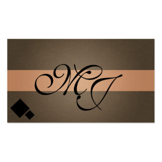Formal Simple Business Card