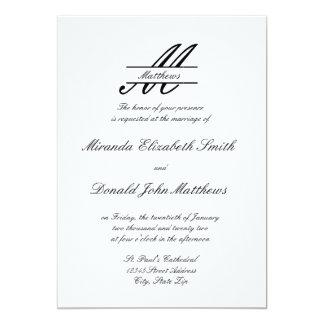 Formal Simple Elegant - Wedding Invitation
