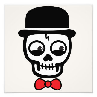 """Formal Skeleton"" Photo Art Print (him)"