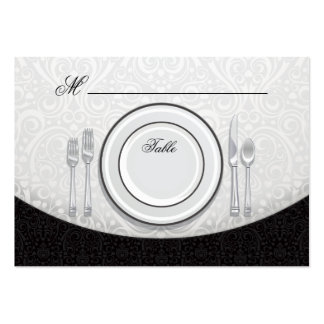 Formal Table Seating Place Card Large Business Card