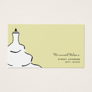Formal Wear Boutique Business Card
