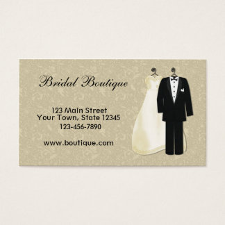 Formal wear business cards templates zazzle formal wear business card stopboris Image collections