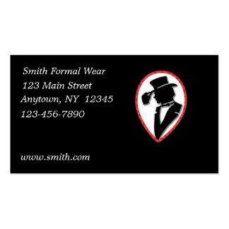 Formal Wear Business Card