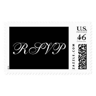 Formal Wedding RSVP Stamps