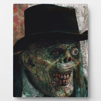 Formal Zombie Photo Plaque