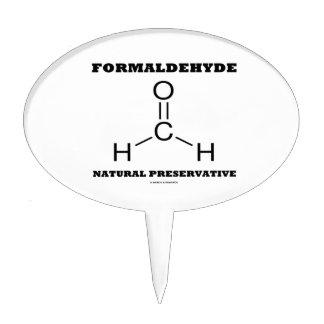 Formaldehyde Natural Preservative (Molecule) Cake Toppers
