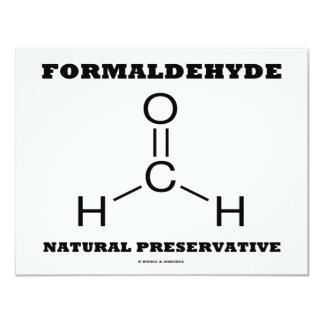 Formaldehyde Natural Preservative (Molecule) Personalized Invitation